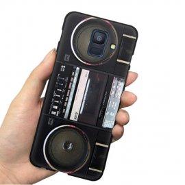 Funda Samsung Galaxy A6 2018 Gel Dibujo Cassette