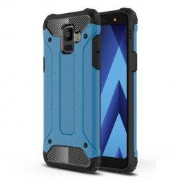 Funda Galaxy A6 2018 Shock Resistante Azul