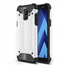 Funda Galaxy A6 2018 Shock Resistante Blanca