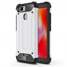 Funda Xiaomi Redmi 6 Shock Resistante Blanca