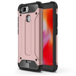Funda Xiaomi Redmi 6 Shock Resistante Rosa