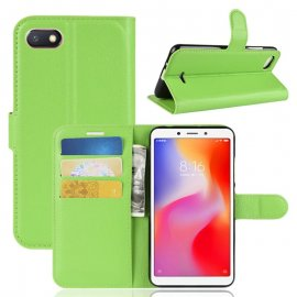 Funda Libro Xiaomi Redmi 6 Soporte Verde