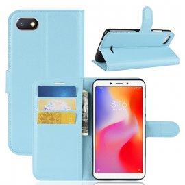 Funda Libro Xiaomi Redmi 6 Soporte Azul