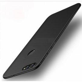 Funda Gel Xiaomi Redmi 6 Flexible y lavable Mate Negra