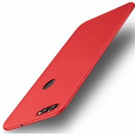 Funda Gel Xiaomi Redmi 6 Flexible y lavable Mate Roja