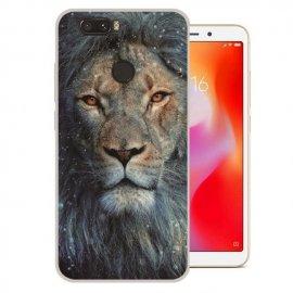 Funda Xiaomi Redmi 6 Gel Dibujo Leon