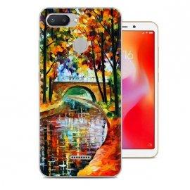 Funda Xiaomi Redmi 6 Gel Dibujo Cuadro
