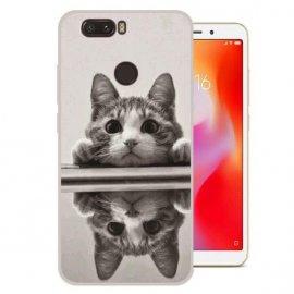 Funda Xiaomi Redmi 6 Gel Dibujo Gatito