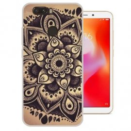 Funda Xiaomi Redmi 6 Gel Dibujo Flor