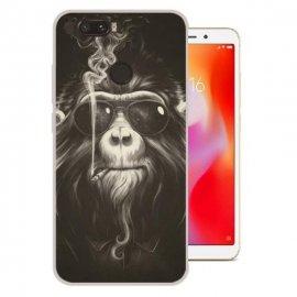 Funda Xiaomi Redmi 6 Gel Dibujo Mono