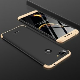 Funda 360 Xiaomi Redmi 6 Dorada y Negra