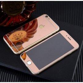 Kit Protector Pantalla Cristal Templado Iphone 6 Rosa