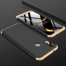 Funda 360 Xiaomi Mi A2 Lite Dorada y Negra