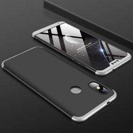Funda 360 Xiaomi Mi A2 Lite Gris y Negra