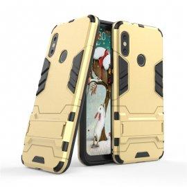 Funda Xiaomi Mi A2 Lite Shock Resistante dorada oro