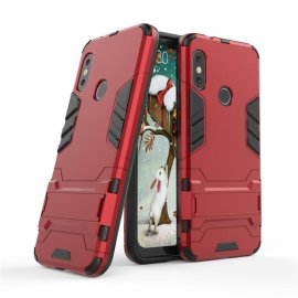 Funda Xiaomi Mi A2 Lite Shock Resistante Roja