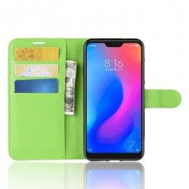Funda Libro Xiaomi Mi A2 Lite Soporte Verde