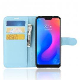 Funda Libro Xiaomi Mi A2 Lite Soporte Azul