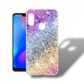 Funda Xiaomi Mi A2 Lite Gel Dibujo Bling