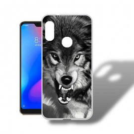 Funda Xiaomi Mi A2 Lite Gel Dibujo Lobo