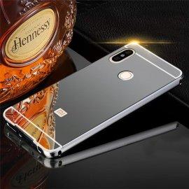 Bumper Xiaomi MI A2 Lite Aluminio Dual Gris