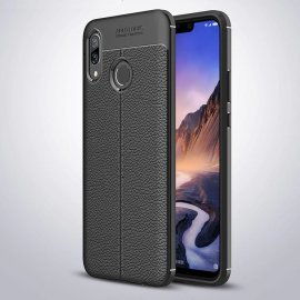 Funda Huawei P Smart Plus Tpu Cuero 3D Negra