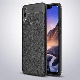 Funda Huawei P Smart Plus Tpu Cuero 3D Negra