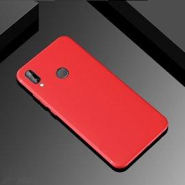 Funda Gel Huawei P Smart Plus Flexible y lavable Mate Roja