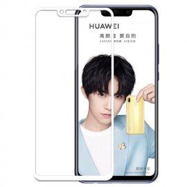 Protector Pantalla Cristal Templado Premium Huawei P Smart Plus Blanco