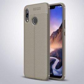 Funda Huawei P Smart Plus Tpu Cuero 3D gris