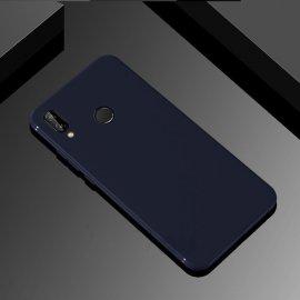 Funda Gel Huawei P Smart Plus Flexible y lavable Mate Azul