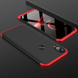 Funda 360 Huawei P Smart Plus Negra y Rojo