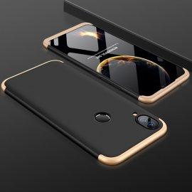 Funda 360 Huawei P Smart Plus Negra y Oro