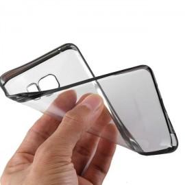 Funda Gel Galaxy S6 Edge con bordes Negros