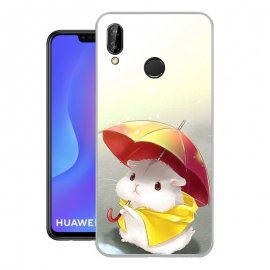 Funda Huawei P Smart Plus Gel Dibujo Ratoncito
