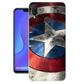 Funda Huawei P Smart Plus Gel Dibujo America
