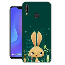 Funda Huawei P Smart Plus Gel Dibujo Conejo