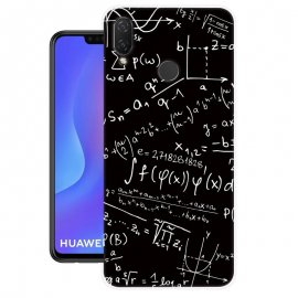 Funda Huawei P Smart Plus Gel Dibujo Formulas
