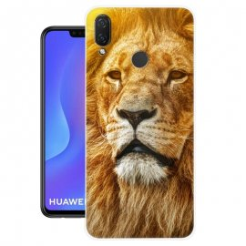 Funda Huawei P Smart Plus Gel Dibujo Leon