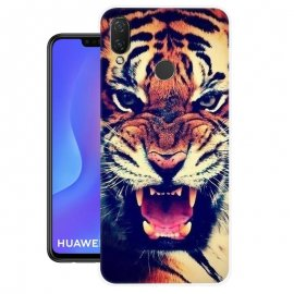Funda Huawei P Smart Plus Gel Dibujo Tigre