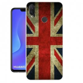 Funda Huawei P Smart Plus Gel Dibujo Londres