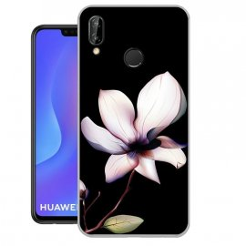 Funda Huawei P Smart Plus Gel Dibujo Flor