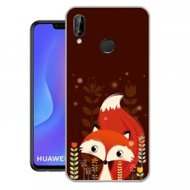 Funda Huawei P Smart Plus Gel Dibujo Wimi