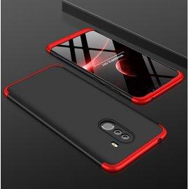 Funda 360 Xiaomi Pocophone F1 Roja y Negra