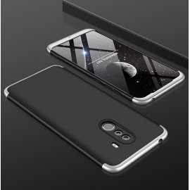 Funda 360 Xiaomi Pocophone F1 Gris y Negra