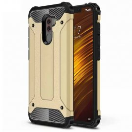 Funda Xiaomi Pocophone F1 Shock Resistante Dorada