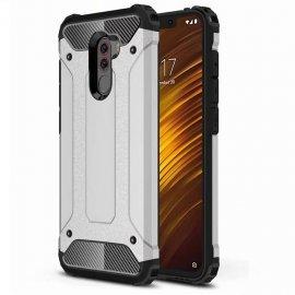Funda Xiaomi Pocophone F1 Shock Resistante Gris Plata