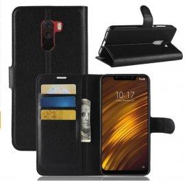 Funda Libro Xiaomi Pocophone F1 Soporte Negra