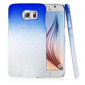 Carcasa Galaxy S6 Pure Agua Azul 3D