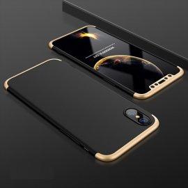 Funda 360 iPhone XS Negra y Oro